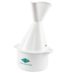 FRANK® Inhalator aus Kunststoff weiß