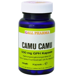GALL PHARMA Camu Camu 500 mg GPH Kapseln