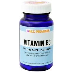 GALL PHARMA Vitamin B3 15 mg GPH