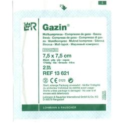 Gazin® Mullkompresse steril 7,5cm x 7,5cm