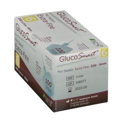 GlucoSmart® Extra-Fine Pen Nadeln 6 mm 32 G