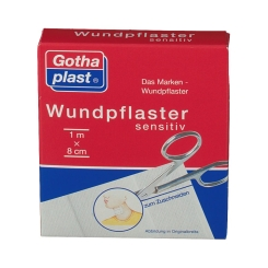 Gothaplast® Comfort und Sensitiv (hypoallergen) Pflaster 1 m x 8 cm