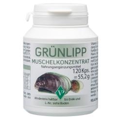 Grünlipp-Muschel Konzentrat Kapseln