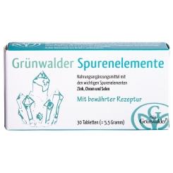 Grünwalder Spurenelemente Filmtabletten