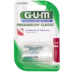 GUM® Proxabrush Ersatzbürste 1,4 mm Kerze 612