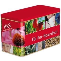 H&S® Teedose mit 24 Teebeuteln