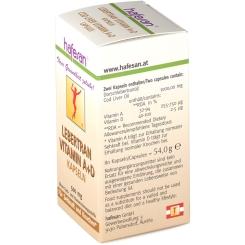 hafesan® Lebertran Vitamin A+D Kapseln