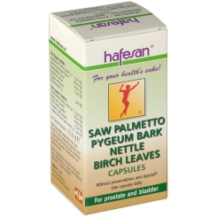 hafesan® Sägepalme Pygeumrinde Brennessel Birkenblätter