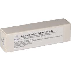 Hamamelis Folium WELEDA 10 % Salbe