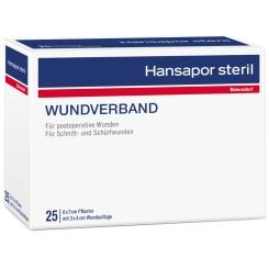 Hansapor steril Wundverband 6 x 7 cm