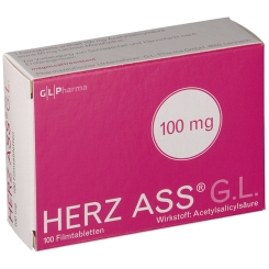 Herz ASS G.L. 100 mg