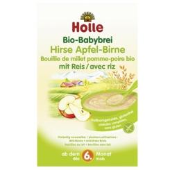 Holle Bio-Babybrei Hirse Apfel-Birne
