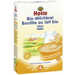 Holle Bio-Milchbrei Hirse