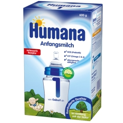 Humana Anfangsmilch 1 GOS + LCP