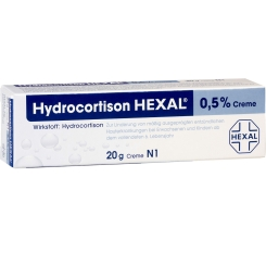 Hydrocortison HEXAL® 0,5 % Creme