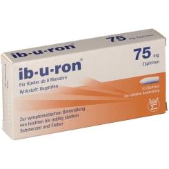 ib-u-ron® 75 mg Zäpfchen