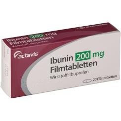 Ibunin Actavis 200 mg