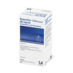 Ibuprofen - 1 A Pharma® 40 mg/ml Suspension zum Einnehmen