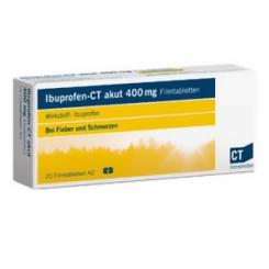 Ibuprofen-CT akut 400 mg Filmtabletten