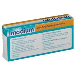 Imodium® akut 2 mg Schmelztabletten