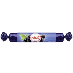 intact Traubenzucker-Rolle schwarze Johannisbeere