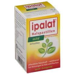 ipalat® Halspastillen mild