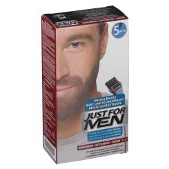 JUST FOR MEN® Pflege-Brush-In-Color-Gel mittelbraun