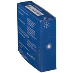 KALT-WARM Kompresse FrostiFix 12x29 cm blau Vlies