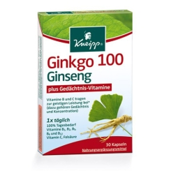 Kneipp® Ginkgo 100 Ginseng plus