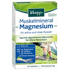 Kneipp® Muskelmineral Magnesium