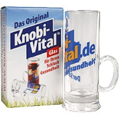 KnobiVital Glas 5cl Messbecher