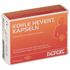KOHLE HEVERT® Kapseln