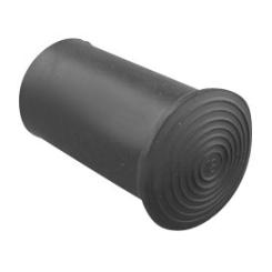 Krückenkappe schwarz Gr. 1 18mm