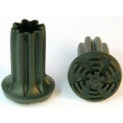 Krückenkapsel Ingrid, konvex, 16-22mm