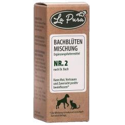La Pura Bachblütenmischung Nr. 2 für Hunde und Katzen