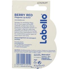 LABELLO Lip Butter red Creme Blister