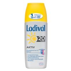Ladival® Aktiv Sonnenschutzspray LSF 20