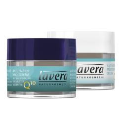 lavera basis sensitiv Anti-Falten Feuchtigkeitscreme Q10 und Nachtcreme
