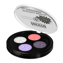 lavera Beautiful Mineral Eyeshadow Quattro Sophisticated Tones 06