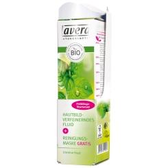 lavera Hautbildverfeinerndes Fluid mit Reinigungsmaske