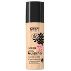 lavera Natural Liquid Foundation Ivory Nude 02