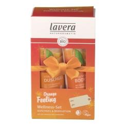 lavera Orange Feeling Wellness-Set Duschgel & Bodylotion