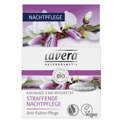 lavera Straffende Nachtpflege Karanjaöl & Weisser Bio-Tee