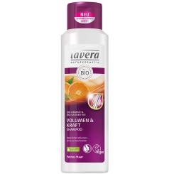lavera Volumen & Kraft Shampoo Bio Orange & Grüner Tee