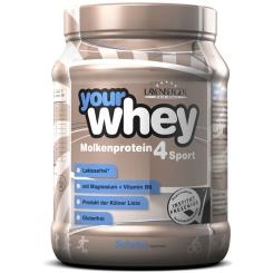 LAYENBERGER® Your Whey Molkenprotein 4 Sport Pulver lactosefrei Schoko