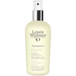 Louis Widmer Remederm Körperöl Spray leicht parfümiert