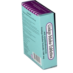 Lucovit Ginkgo biloba-Tabletten 100 mg
