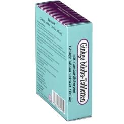 Lucovit Ginkgo biloba-Tabletten 160 mg