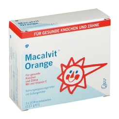 Macalvit® Orange Brausetabletten