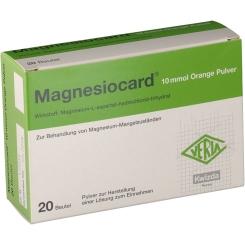 Magnesiocard® Orange 10 mmol